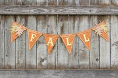 This wood pennant DIY fall banner is the perfect addition to your fall decor. Embossed paper & embellishments create beautiful warmth and texture! Diy Birthday Banner, Diy Banner, Banner Ideas, Candy Corn, Fall Burlap Banner, Burlap Banners, Pennant Banners, Fall Doormat, Fall Mason Jars