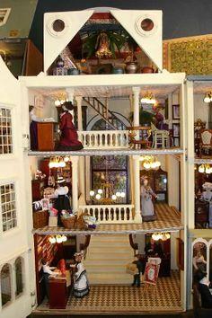 Connie Sauve - Miniature Show Photos (Howard's Bon Marche interior) pic 2/2