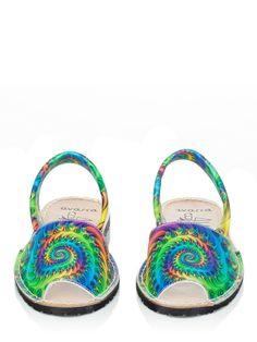 Avarcas multicolor crazy shoes