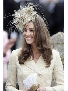 Kate Middleton at a wedding