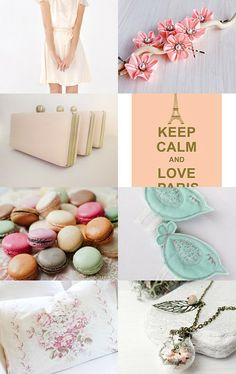 Blushing Spring by Antoaneta on Etsy--Pinned with TreasuryPin.com