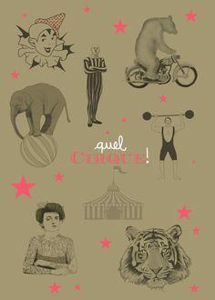 Image of Affiche Quel Cirque A2
