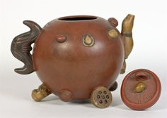 Antique Chinese Yixing Teapots