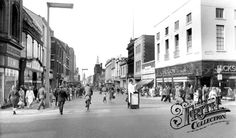 Old photo of Fishergate c1965, Preston