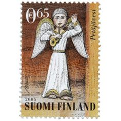 Postage Stamps, Finland, Euro, Christmas Ornaments, Holiday Decor, Paper, Beautiful, Door Bells, Christmas Jewelry