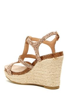 Betsey Johnson Skylir Wedge Sandal