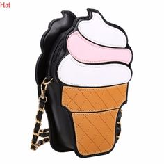 Womem Ice Cream Bags Pu Leather Messenger Bags Small Cupcake Mini Coin Case Handbags Chain Bag Crossbody Cute Girls Bag SV029978 #>=#>=#>=#>=#> Click on the pin to check out discount price, color, size, shipping, etc. Save and like it!