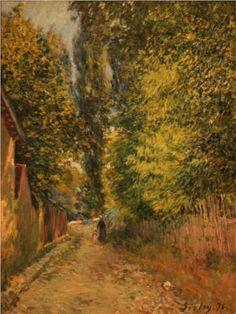 Near Louveciennes - Alfred Sisley