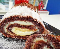Rocambole de Chocolate Prático enviada por Mais Você no dia 09/10/2012