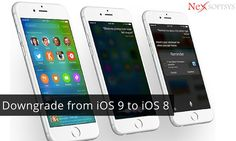 Can I remove #iOS 9 from my #iPhone, and reinstall iOS 8?  If you don't like iOS 9 on your IPhone and wanted to downgrade to iOS 8 version again then here is expert advice by iOS application development team at NexSoftSys.
