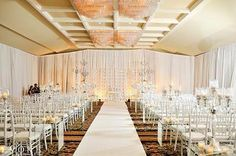 Sweetwater Country Club - indoor wedding ceremony