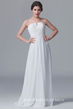 Big sale on popular and White Bridesmaid Dresses. High quality, latest styles perfect white bridesmaid dress awaits you among hundreds of styles. We have a wide range of White Bridesmaid Dresses UK for you to choose Backless Bridesmaid Dress, White Bridesmaid Dresses, Affordable Bridesmaid Dresses, Designer Bridesmaid Dresses, Best Wedding Dresses, Wedding Gowns, Bridesmaids, Prom Dresses, White Chiffon