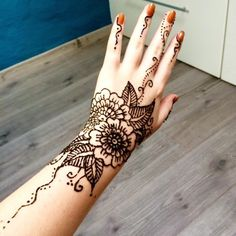 150 Most Popular Henna Tattoo Designs Of All Time nice