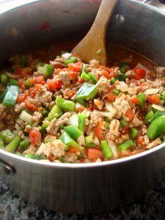 stuffed green pepper soup starter