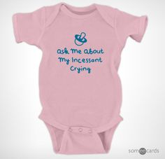 Baby Shaming Onesies Funny | someecards.com