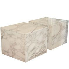 Marble Block Tables