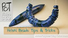 Polymer Clay Heishi Beads Tips & Tricks. Got Ugly beads? Give them a new life with this neat little trick!