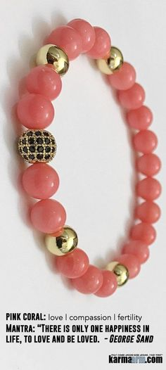 #Pink #coral is used to restore #harmony to your heart. ♛ #BEADED #Yoga #Charm #BRACELETS #Mens #Good #Luck #womens #Jewelry #Fertility #Eckhart #Tolle #Crystals #Energy #gifts #Chakra #Healing #Kundalini #Law #Attraction #LOA #Love #Mala #Meditation #prayer #Reiki #mindfulness #wisdom #CrystalEnergy #Spiritual #friendship
