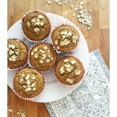 Banana muffins with buckwheat flour //Banános muffin hajdinaliszttel // Buckwheat, Muffins, Health Fitness, Banana, Snacks, Vegan, Breakfast, Food, Morning Coffee