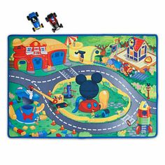 Mickey Mouse Clubhouse - Mickey  Donald Play Mat  Vehicles Play Set - 3-pc Disney,http://www.amazon.com/dp/B00C69EH34/ref=cm_sw_r_pi_dp_pAwEtb1SDQKC805W