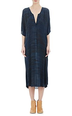 We Adore: The Tie-Dyed Caftan from Raquel Allegra at Barneys New York