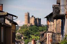 Castle, Najac, France.