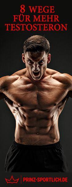 Ihr wollt einen besseren Muskelaufbau? Dann erhöht auf natürlichem Weg euren Testosteronspiegel. 8 Wege für mehr Testosteron findet ihr auf meinem Blog!