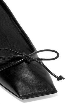 Balenciaga - Leather Ballet Flats - Black - IT37.5