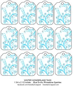 Sweetly Scred Free Printable Winter Wonderland Tags Disney Frozen Party Birthday