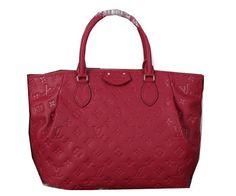 Louis Vuitton Monogram Empreinte Turenne MM Bag M48814 Peach - $229.00