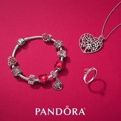 44d4dccdb Make a loving statement with the vibrant colors of pinks and reds from the  New Valentine's collection from PANDORA. Rock Hill, Park Road and Arbo  locations ...