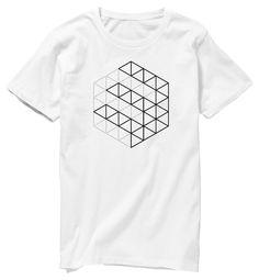 3flab Grid T-shirt | オリジナルTシャツ作成・販売 STEERS(ステアーズ)