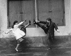 Anna Karina & Jean Paul Belmondo