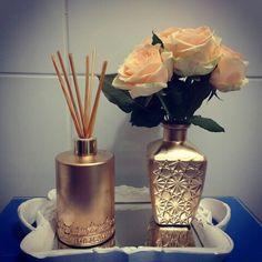 Kit para lavabo Gold *edição limitada #aromatizador #aromattica #aroma…