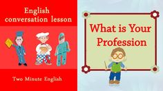 English Job Vocabulary - Professions in English. What is your Job? Occup...