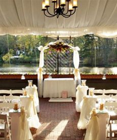 Terrace Garden at Auletto Caterers on the Almonesson Lake in NJ