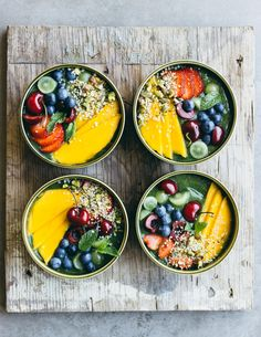 The Green smoothie bowl - here to stay