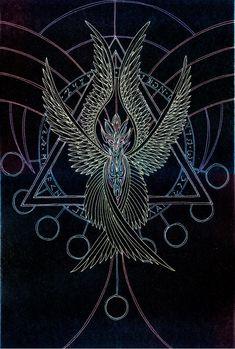 Angellum - Mal'akhim by Lakandiwa on DeviantArt Dark Fantasy, Fantasy Art, Graffiti Art, Seraph Angel, Esoteric Art, Ange Demon, Occult Art, Angels And Demons, Angel Art