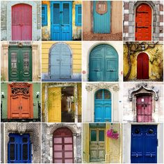 Weathered Doors | Flickr - Photo Sharing! | Some - but not all - of these actually do have some location info if you click through to the Flickr page.