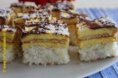 Farfuria vesela: Prajitura cu blat de cocos