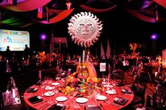Best Buddies Gala 2010, Intenrational Themed with Decor; source: Bizbash