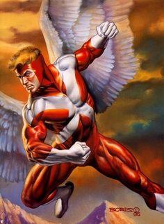 Angel by Boris Vallejo