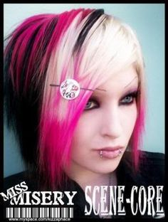 Amazing Pink Purple Black And Blonde Hair Hair Pinterest Pink Hairstyles For Men Maxibearus