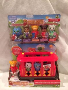 DANIEL TIGER S Neighborhood TROLLEY DANIEL TIGER FIGURES NEW DANIEL TIGERS  TOYS bb32d9b51