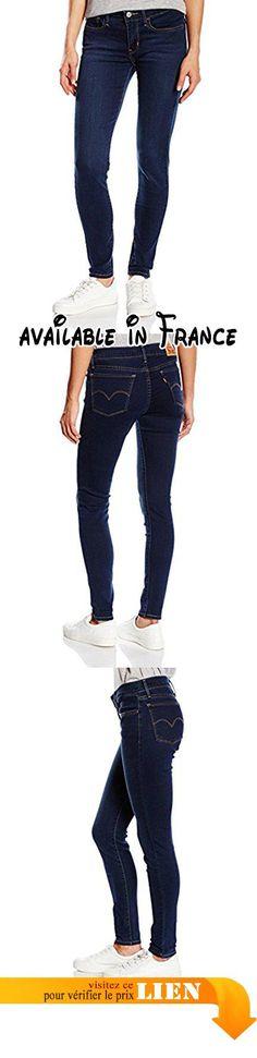 B013V651QC : Levi's Super Skinny - Jeans - Skinny - Femme - Bleu (head West) - W29/L30 (Taille fabricant: W29/L30).
