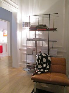 """""""Oficina para vivir"""", proyecto de Jean Nouvel. Isaloni2013, Milán. (Foto: Elizabeth Palacios/Ointeriores) http://www.obrasweb.mx/milan-2013"""
