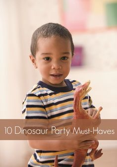 10 Must Have Ideas for a Dinosaur Party
