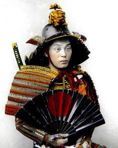 A photo of a man in samurai armor from T. Enami's collection of Japan life during the late 19th century and the beginning of the Meiji Restoration #tenami #EnamiNobukuni #江南信國 #歴史 #日本 #幕府 #幕末 #将軍 #japan #japanesehistory #history #bakufu #bakumatsu #明治時代 #MeijiRestoration #日本史 #samurai #samuraiarmor #armor #侍 #武士