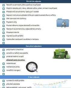 Terapie domova: Speciál před dovolenou - díl 5: odjezdový checklist