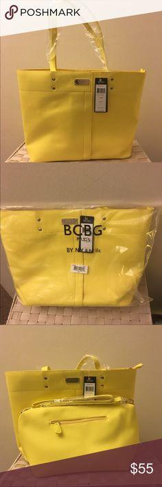 Selling this BCBG Paris textured Tote Handbag NWT on Poshmark! My username is: dknyla. #shopmycloset #poshmark #fashion #shopping #style #forsale #BCBG #Handbags